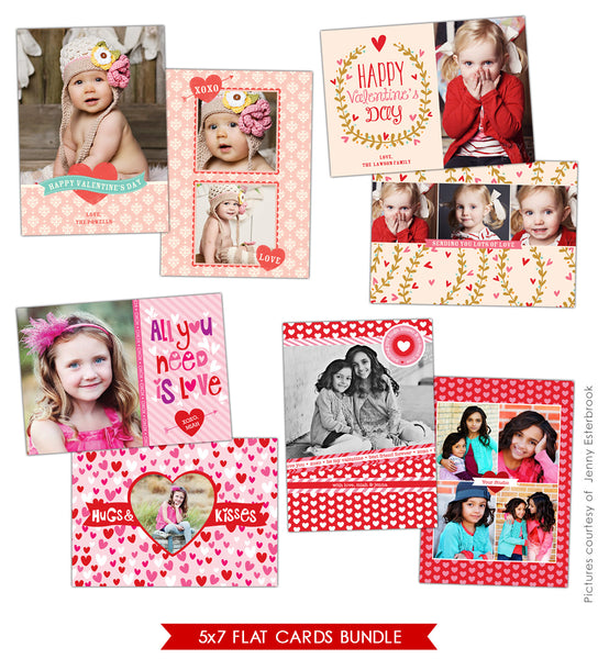 Valentine Photocards Bundle | Best friends