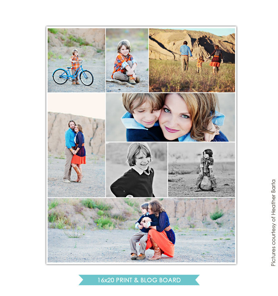 16x20 collage & blog board | Precious times