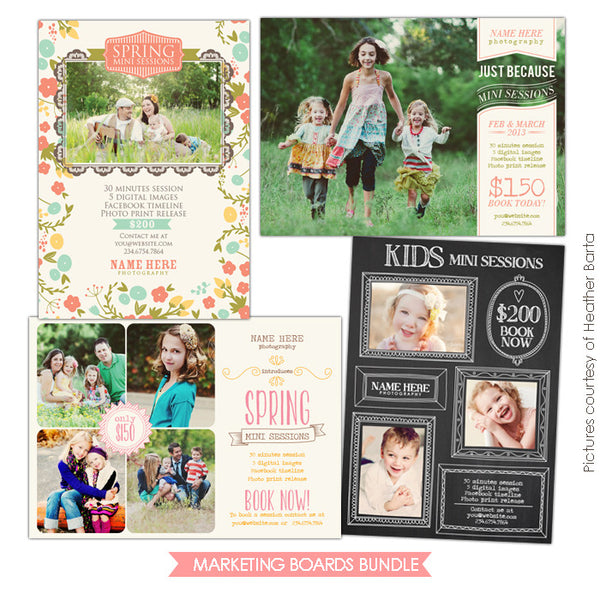 Photography Marketing boards | Magic Glory