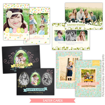 Easter photo cards bundle | Easter moments