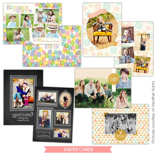 Easter photo cards bundle | Sweet Springtime