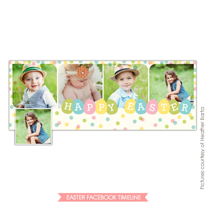 Facebook timeline cover | Spring party