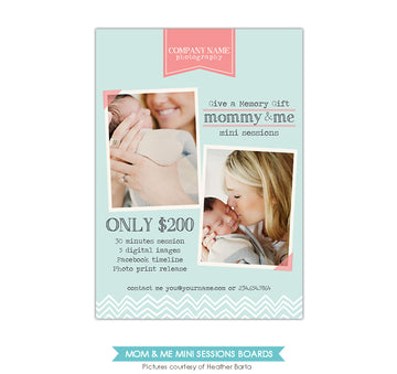 Photography Marketing board | Mommy kiss