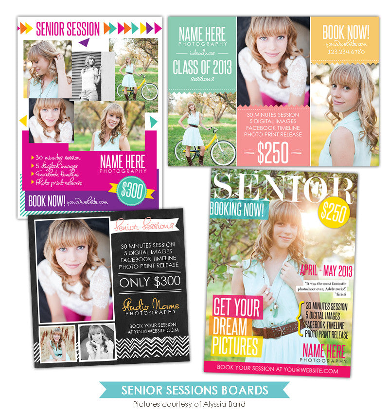 Photography Marketing boards | Senior times