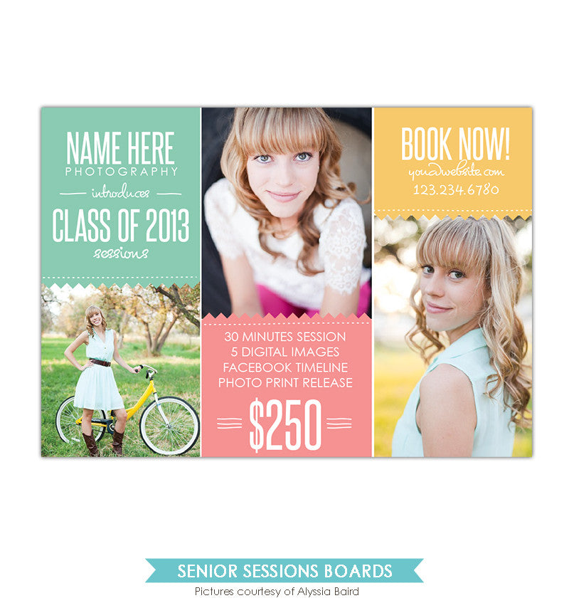 Photography Marketing board | Colorful class