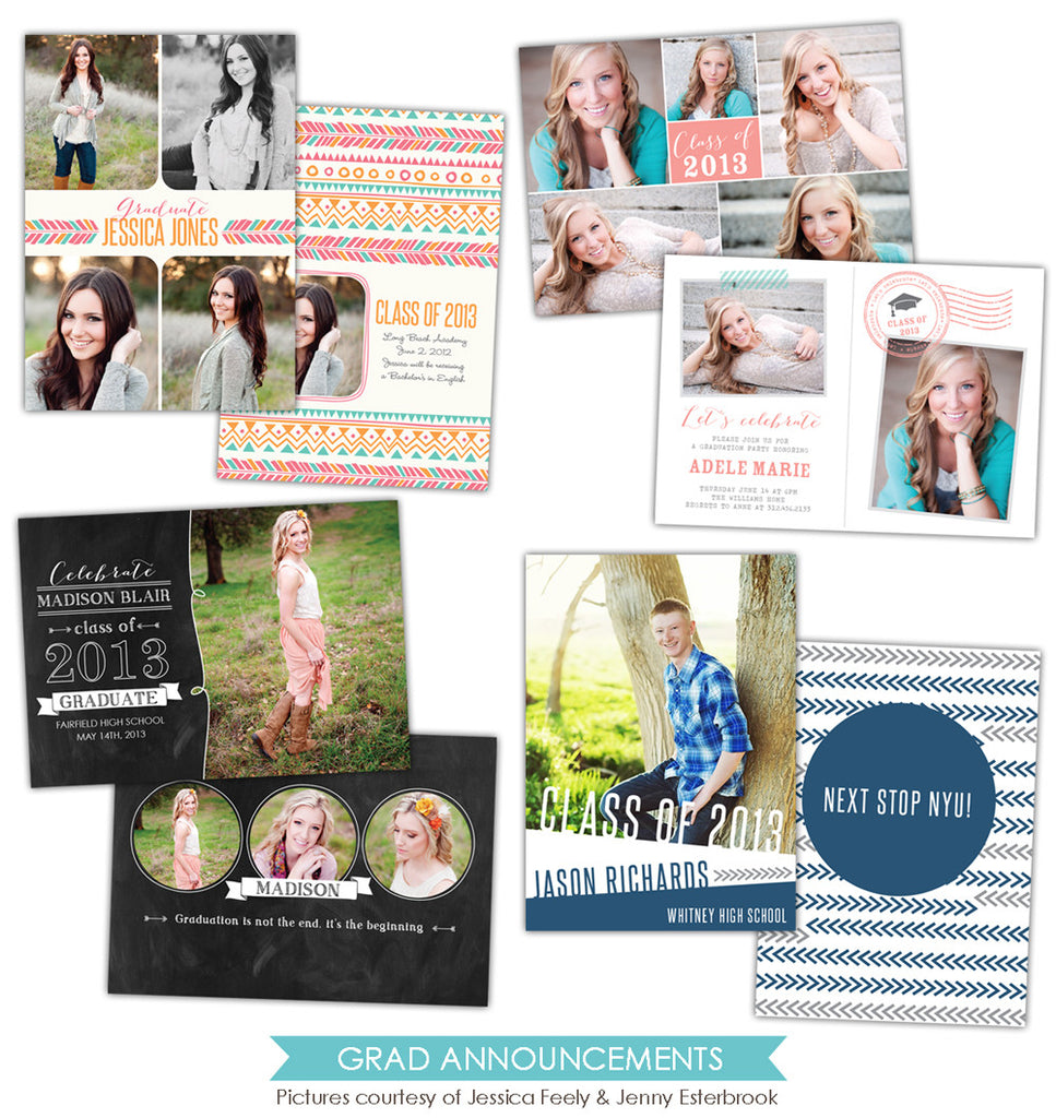 Grad announcements bundle | Celebrations