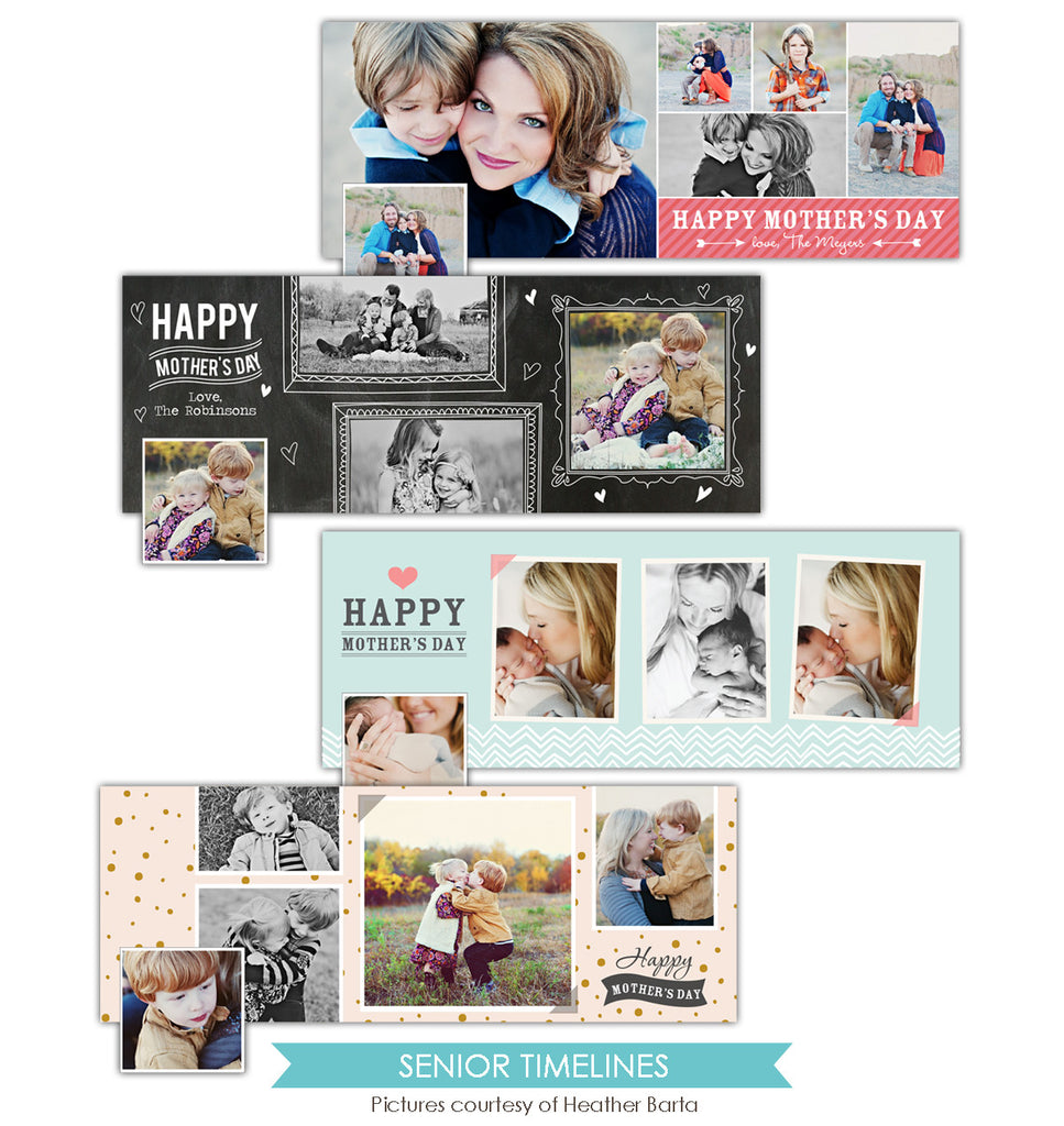 Facebook timeline bundle | Lovely moms