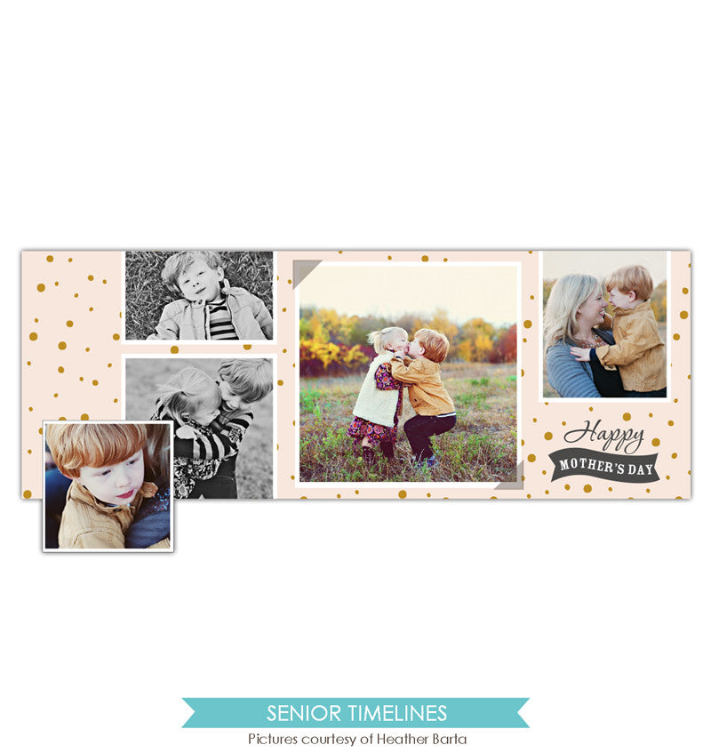 Facebook timeline cover | Memories style