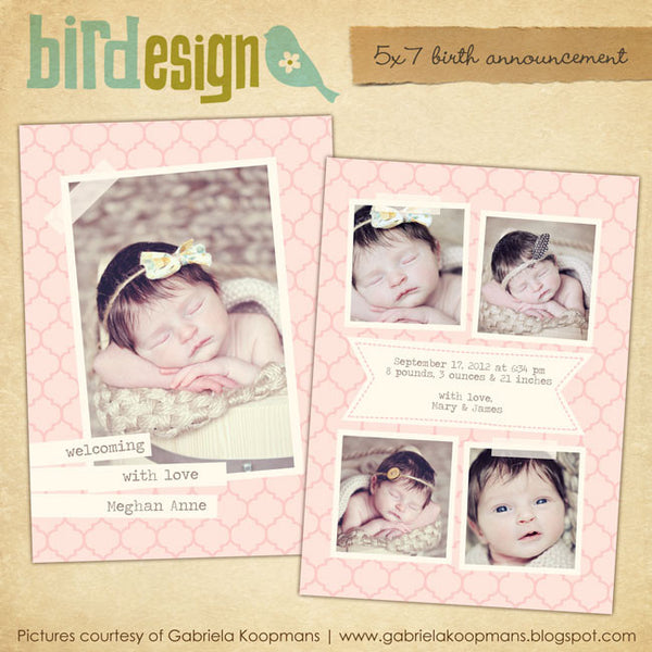 Birth Announcement | Love & Honey