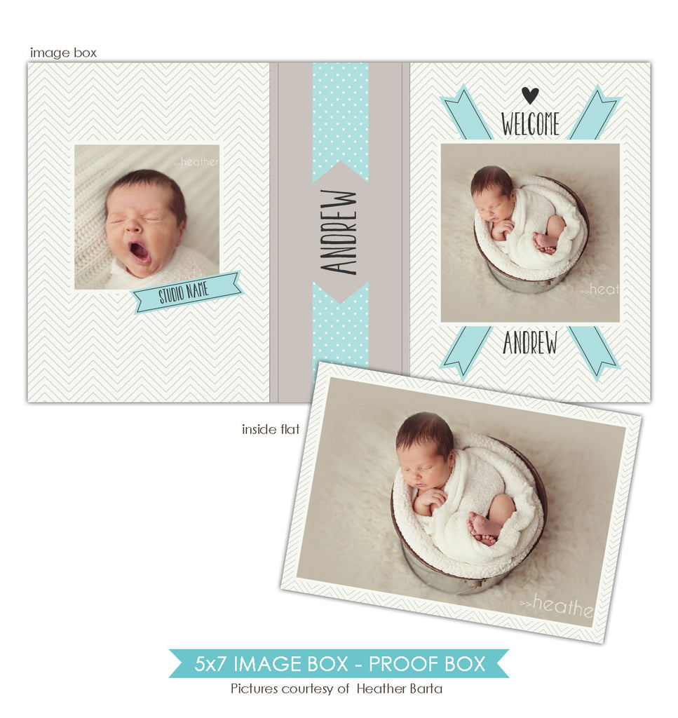 5x7 Image Box | Welcome box
