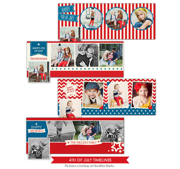 Facebook timelines bundle | Patriotic profile