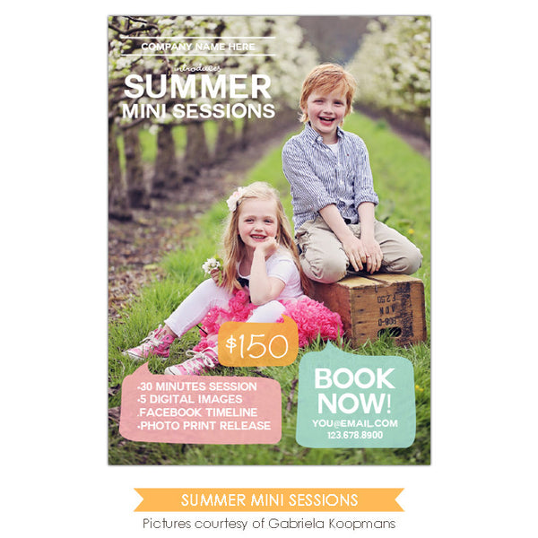 Photography Marketing board | Kids magazine