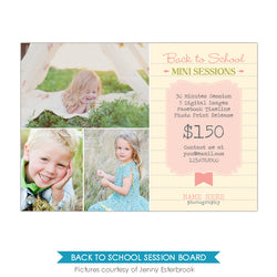 Photography Marketing board | Kids notes