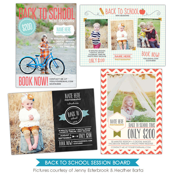 Photography Marketing boards | Joyous kids