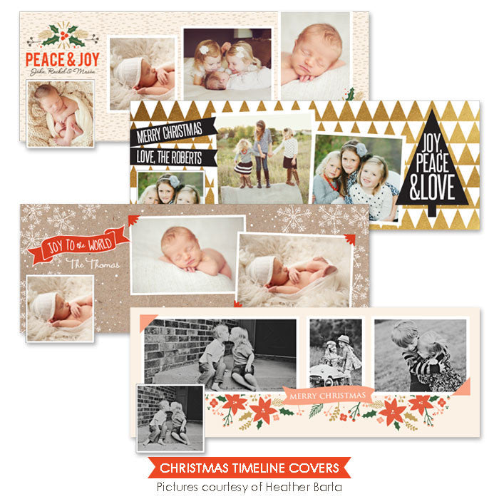 Facebook timelines bundle | Christmas Covers - e963