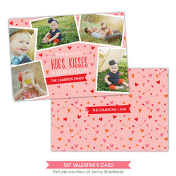 Valentine Photocard Template | Love portraits