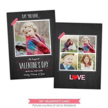 Valentine Photocard Template | Valentine wishes