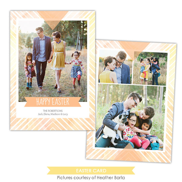 Easter photo card | Easter Sun