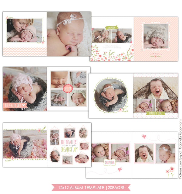 Bundle of love | 12x12 Album template