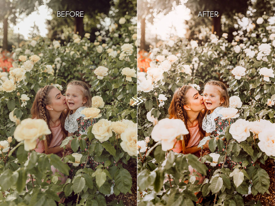 Natural Outdoor Family Lightroom Presets
