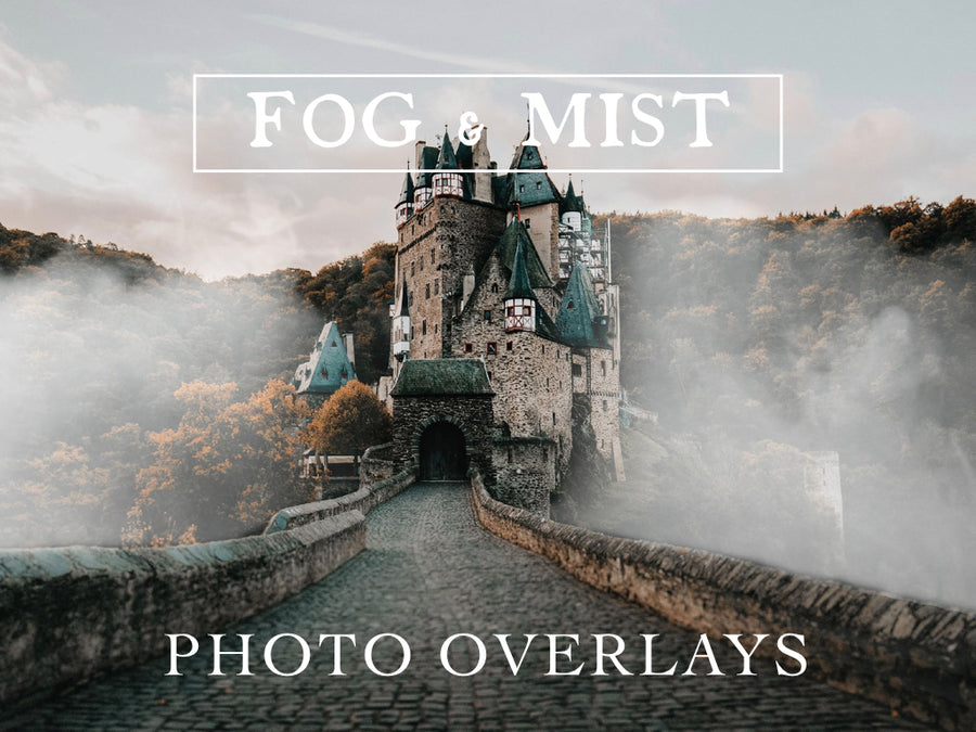 Fog and Mist Photo Overlays