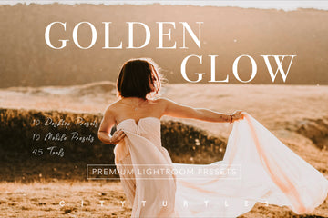 Golden Glow Lightroom Presets  for Desktop and Mobile