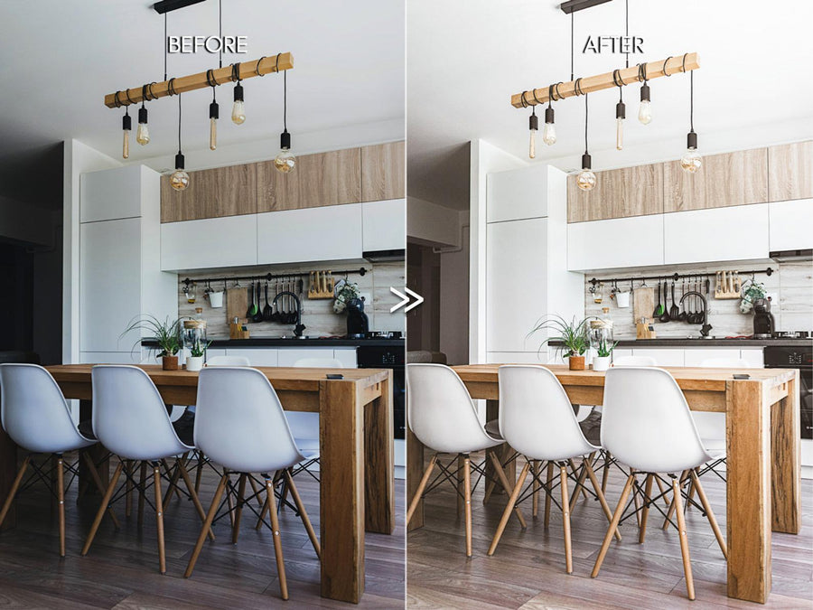 Clean Modern Indoor Home Lightroom Presets for Photographers