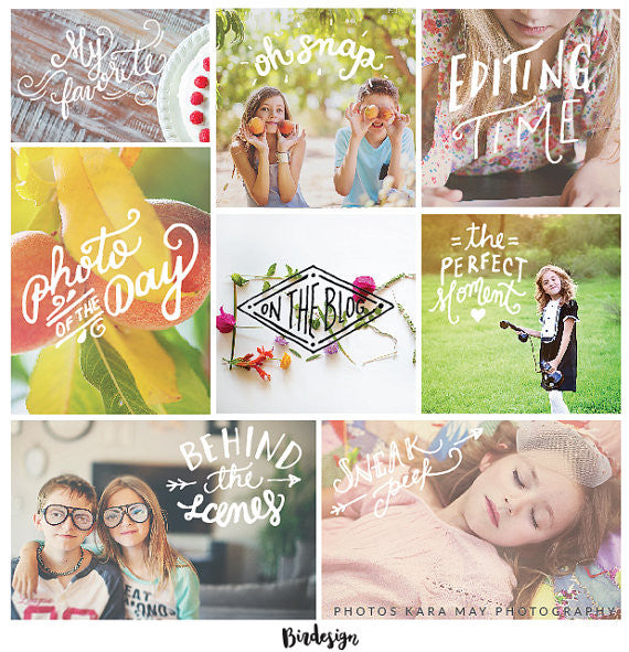 Photo Overlays | The Photographer Vol. 2