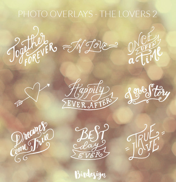 Photo Overlays | The Lovers Vol. 2