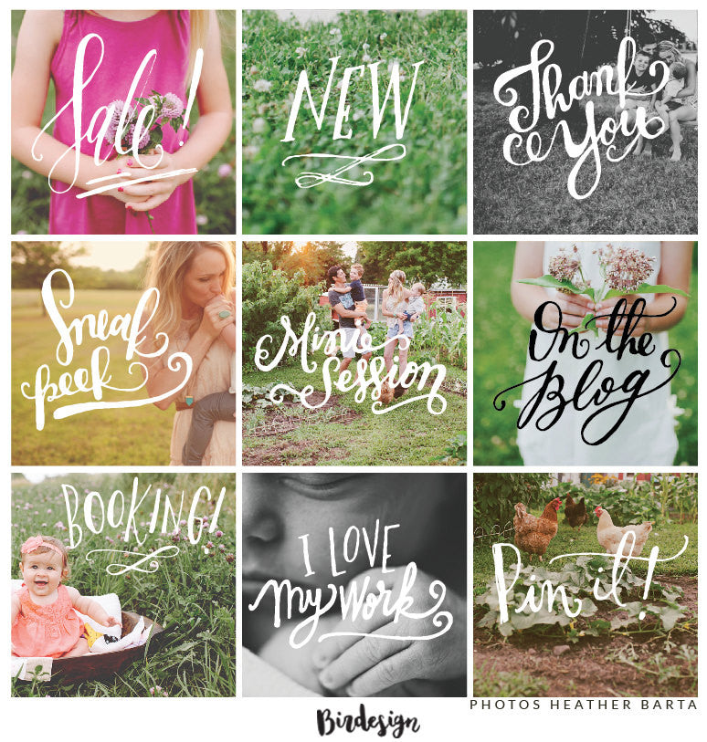 Photo Overlays | Marketing Vol. 1