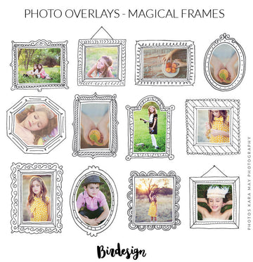 Photo Overlays | Magical frames