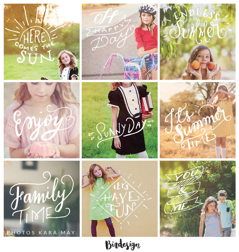 Photo Overlays | Summer Vol. 1
