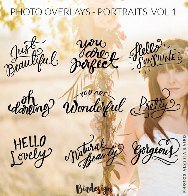 Photo Overlays | Portraits
