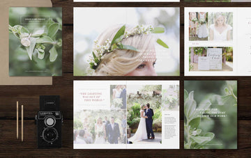 Wedding Photographer Studio Welcome Magazine - Laurel