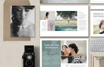 Photography Magazine Template - Venice