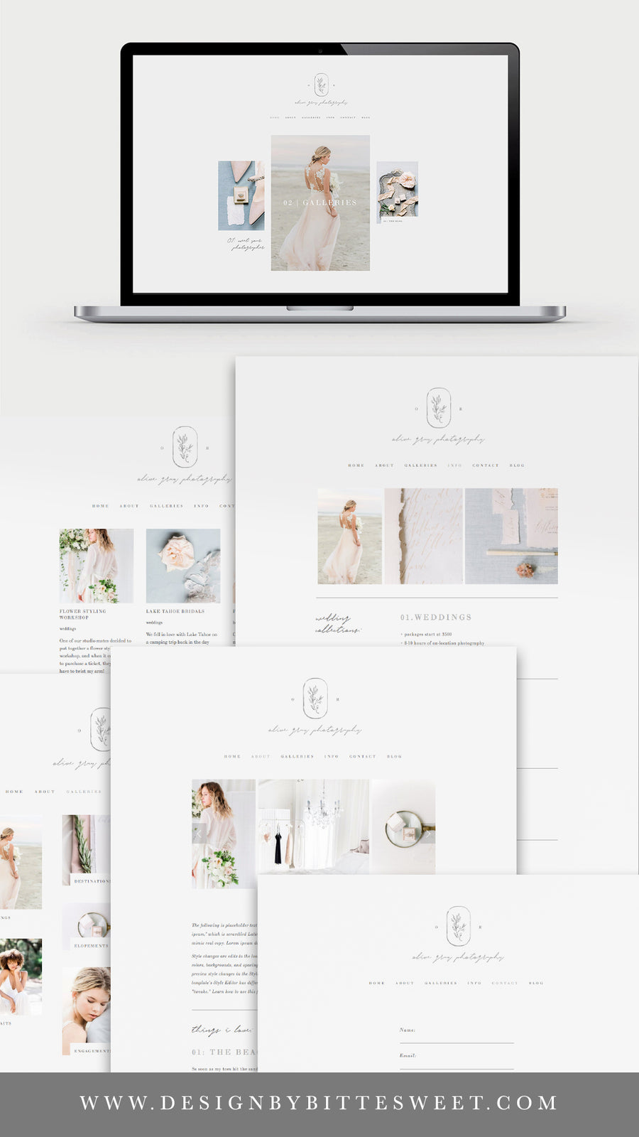Squarespace Website Template - Olive