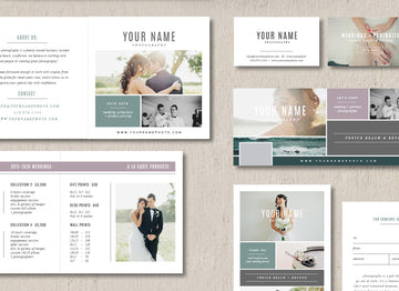 Wedding Photographer Marketing Set - Venice