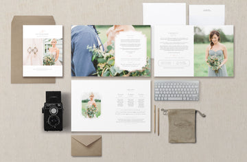Wedding Photography Magazine Template – Eucalyptus