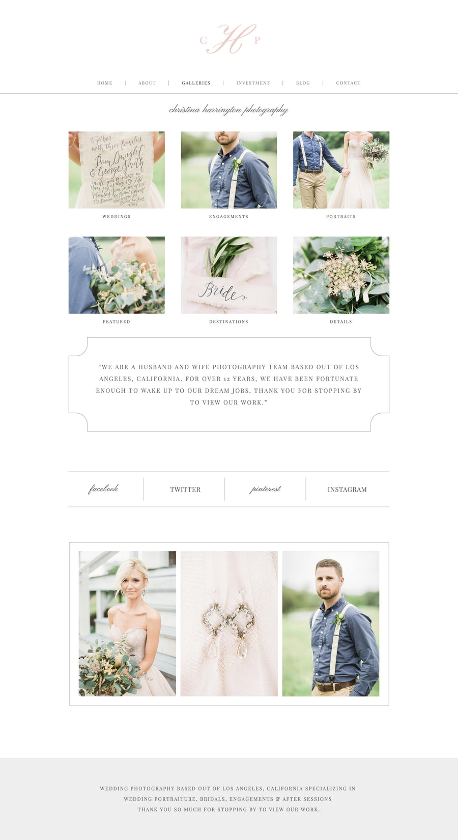 Squarespace Website Template - Eucalyptus