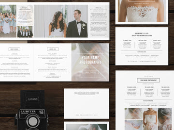 Wedding Photographer Marketing Set - Minimal