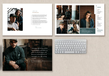 Photography Magazine Template - Elm