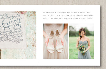Pricing Guide Trifold for Wedding Planners - Eucalyptus