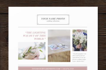 Photography Pricing Guide Template - Laurel