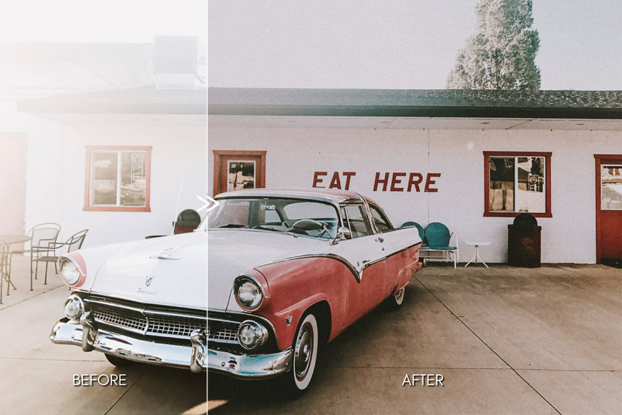 Retro Film Lightroom Presets for Desktop & Mobile