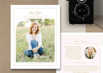 Pricing Guide Template for Senior Photographers