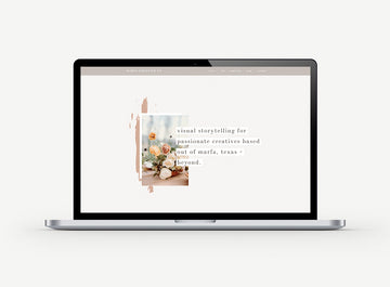 Squarespace Website Template - Marfa