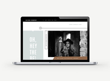 Squarespace Website Template - Elm