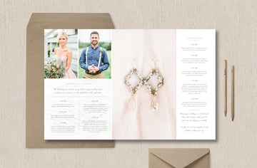 Wedding Day Timeline Template - Eucalyptus