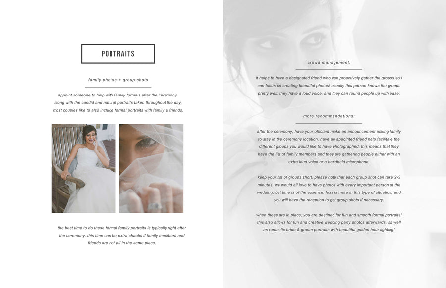 New Client Studio Welcome Magazine - Minimal