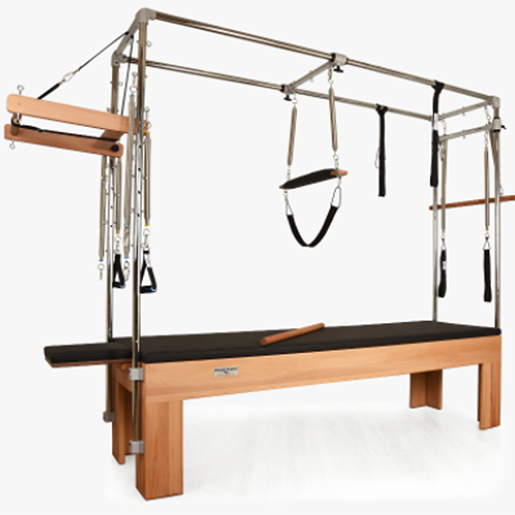 Private Pilates™ Premium Wood Cadillac Trapeze Table - Pilates Direct